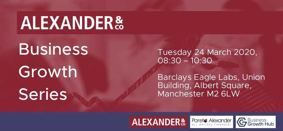 Alexander & Co launches 'Business Growth Series'