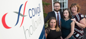 North West accountants Cowgill Holloway celebrate a trio of exam successes