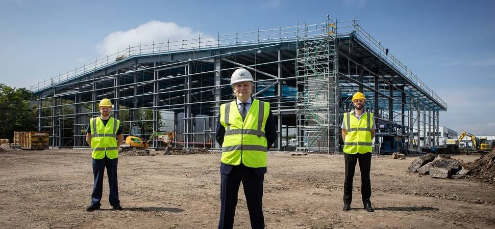 Investment in new North East engineering site reaches key construction phase