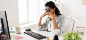How to reduce the impact of stress on your eyesight