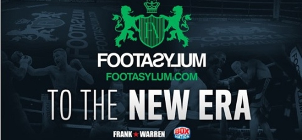 Footasylum go ring side with Frank Warren and BoxNation
