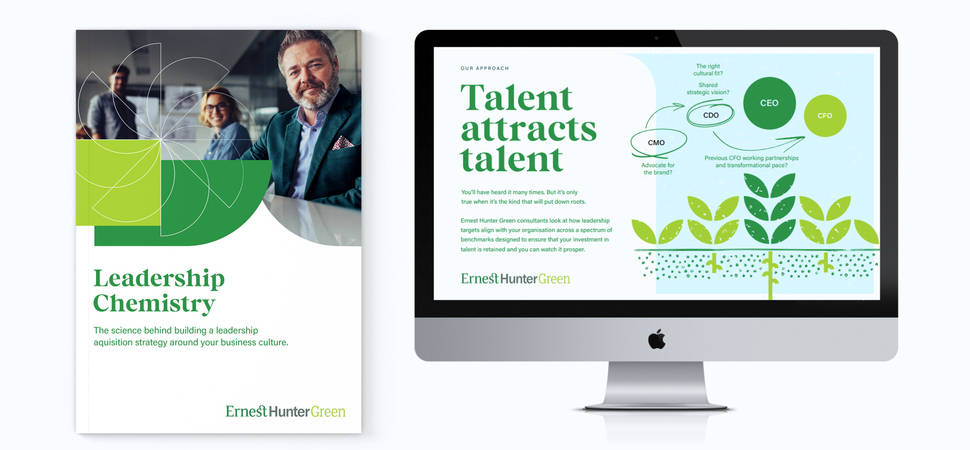 Recruitment consultant turns to Fablr for new branding and website