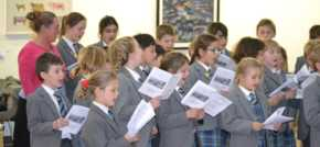 Fairfield schoolchildren busk for hospital