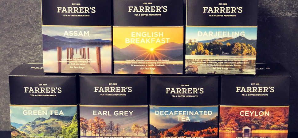 Its time for tea... the Lake District inspires teabag range from Farrer's