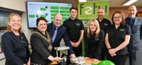 Mayoral visit for growing Calderdale green energy pioneers