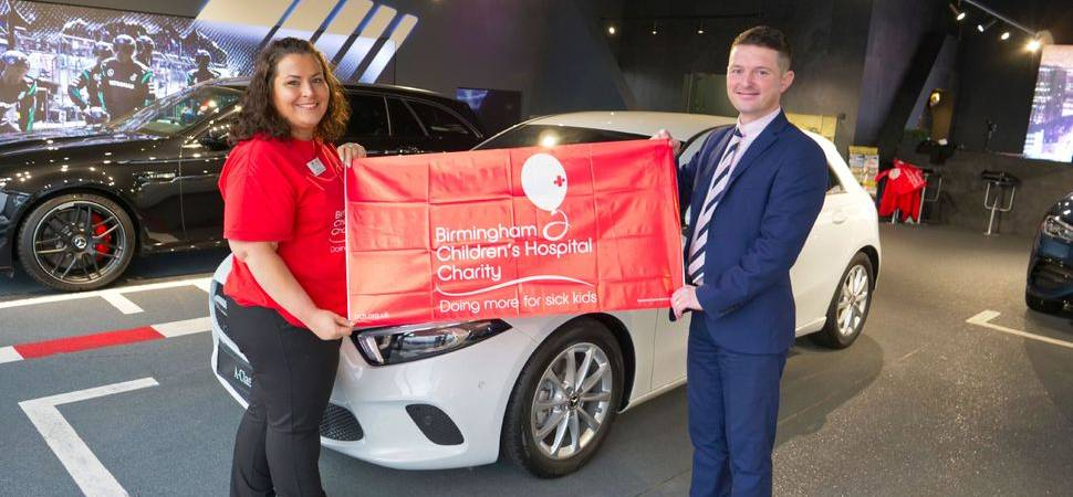 LSH Auto announces partnership with Birmingham Children's Hospital Charity