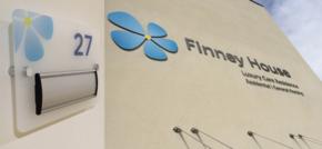 Lancashire-based signage company Lustalux brighten up Finney House