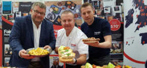 Wholesaler serves up successful trade show