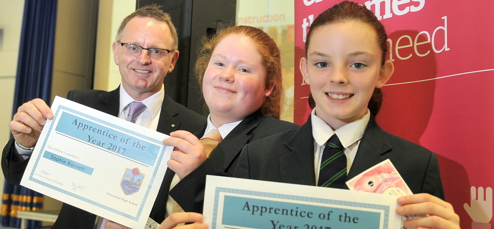 Fleetwood students feeling inspired as programme finishes