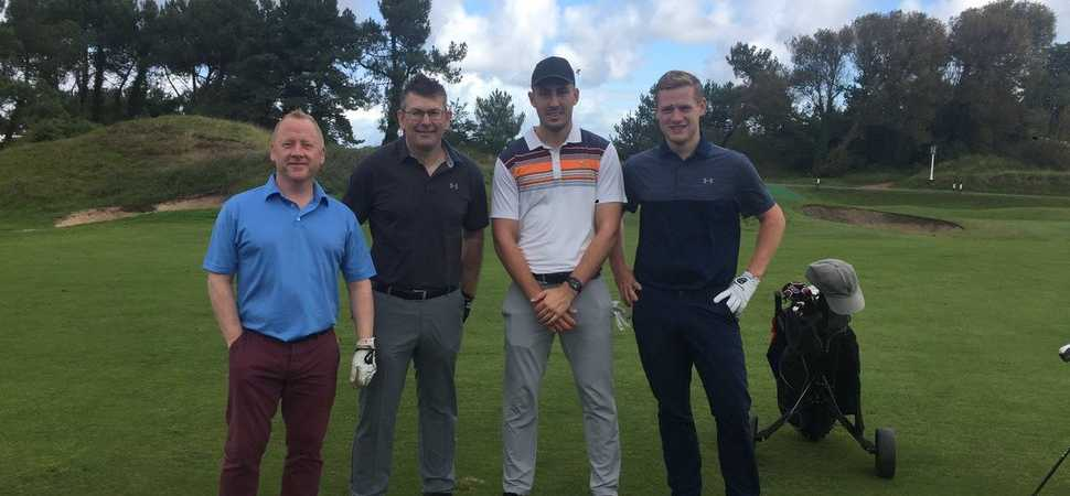 Headway Golf Day raises almost £10,000 for brain injury survivors