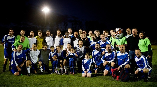 Clatterbridge the winner in Hollyoaks charity match