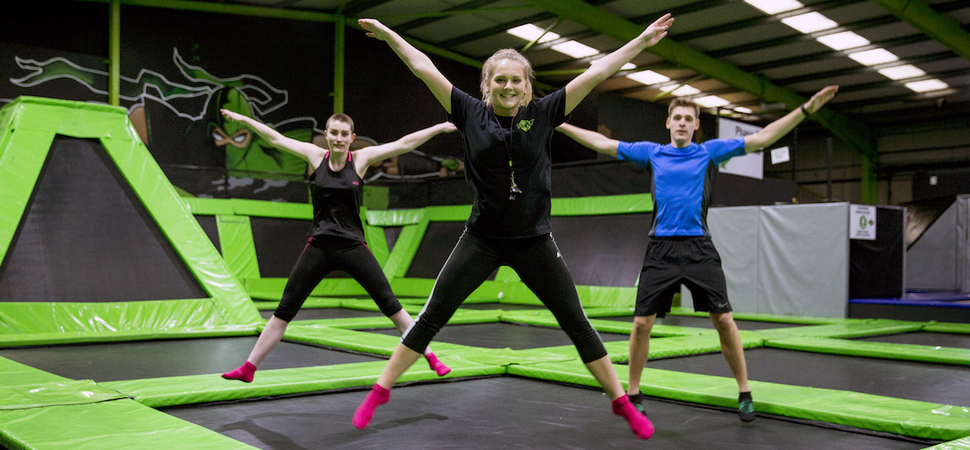 Flip Out leaps into Leicester with new trampoline park