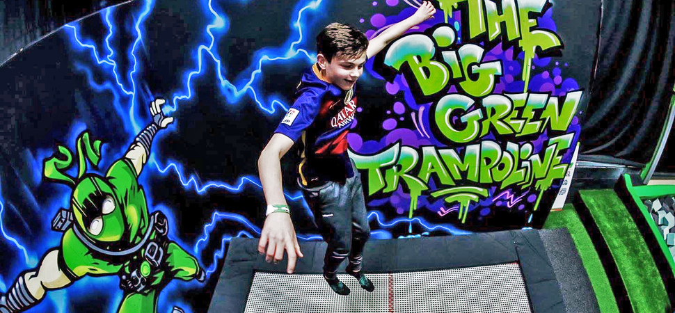 £1m Flip Out trampoline park launch for Sandwell