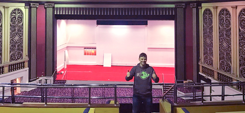 Stage set for new £1.8m Flip Out trampoline park at former East Ham theatre