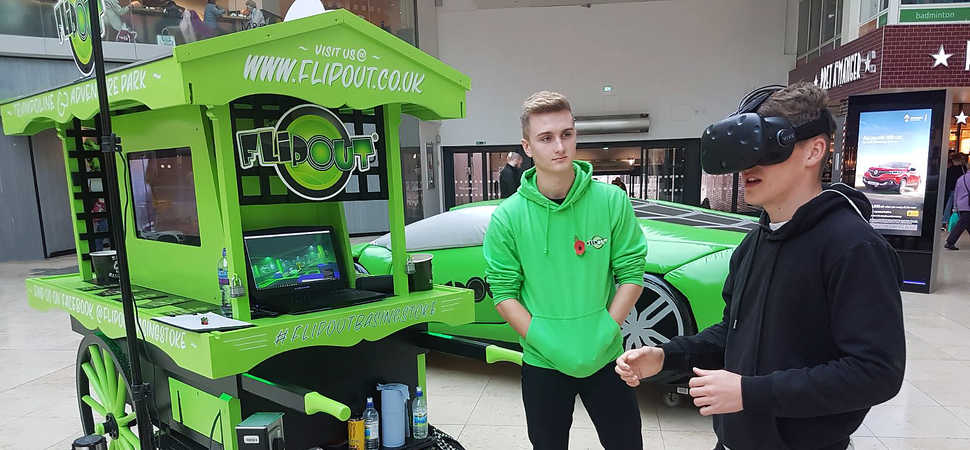 Virtual chance to preview new Flip Out Basingstoke trampoline park