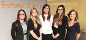 Five Newly Qualified Solicitors for Forbes