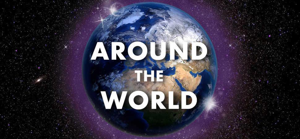 Charity challenges local children to walk around the world