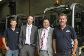 Global forklift truck supplier picks up after expert financial advice