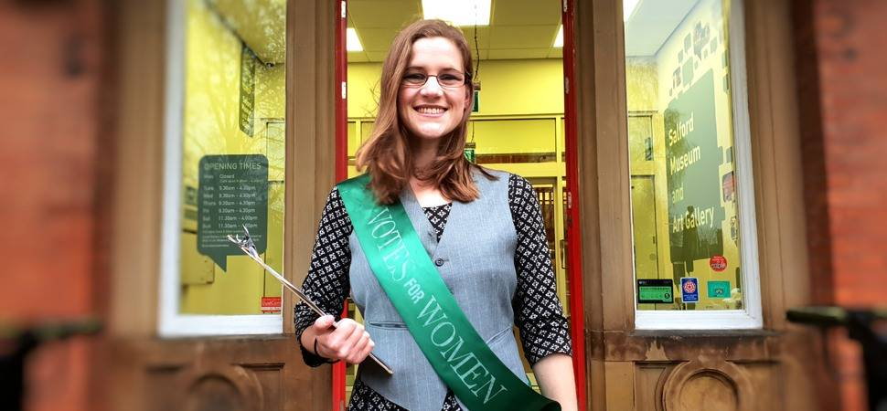Gamechangers of the future inspired by Greater Manchesters suffragist movement