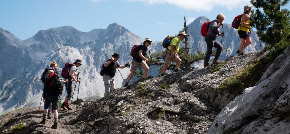 Francis House trekkers conquer the Accursed Mountains