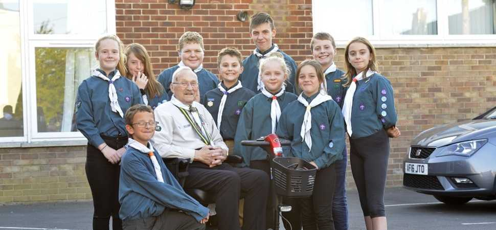 Scouts honour  Swindon housebuilder honours local Scout group