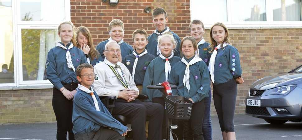 Scouts honour  Swindon housebuilder honours local Scout group