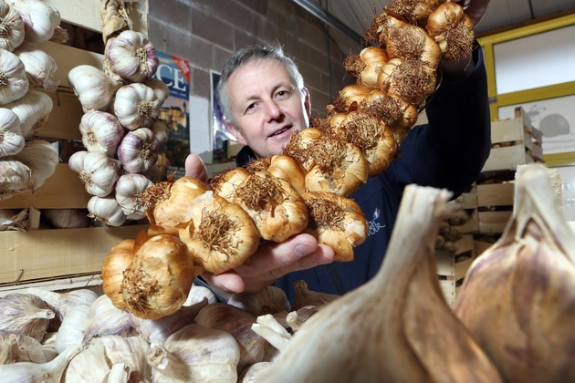 Business Wales helps successful Wrexham importer sell garlic back to the French