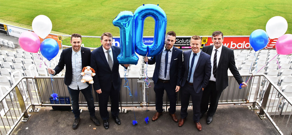 Training Company Celebrated 10 Profound Years