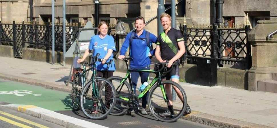 Law firm staff get on their bikes for charity