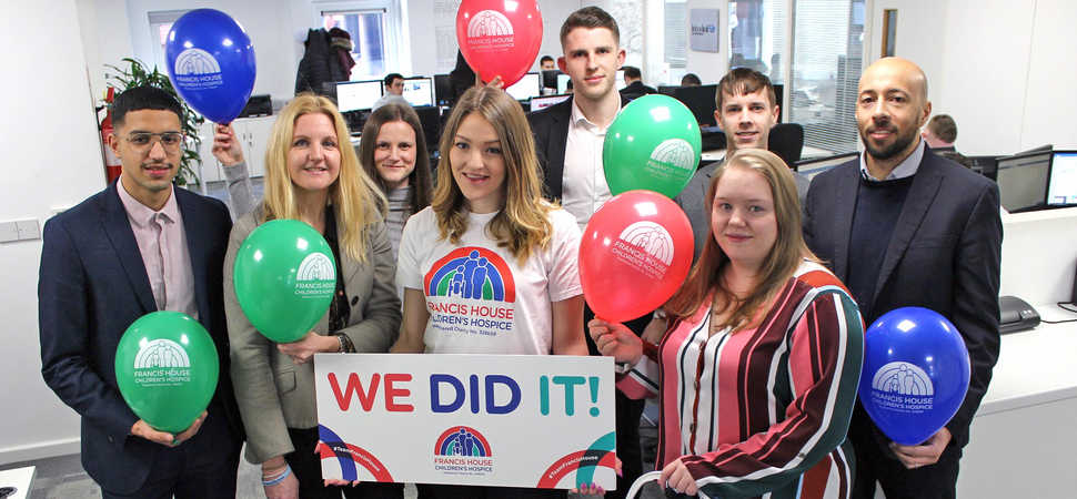 Interlink Recruitment reach fundraising goal for Francis House