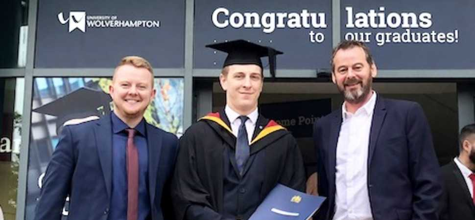 From apprentice to graduate  FSP celebrates Dans success
