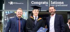 From apprentice to graduate  FSP celebrates Dans success