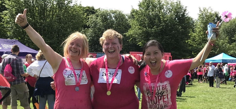 NW Creamline Trio Takes On Pretty Muddy Challenge In Honour Of Colleague