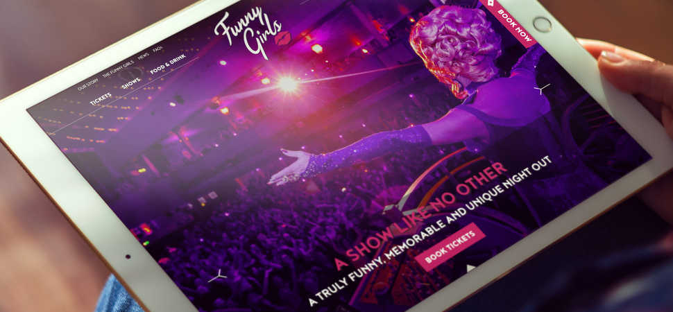 Lancaster creative agency delivers brand and website for Blackpools iconic Funny Girls