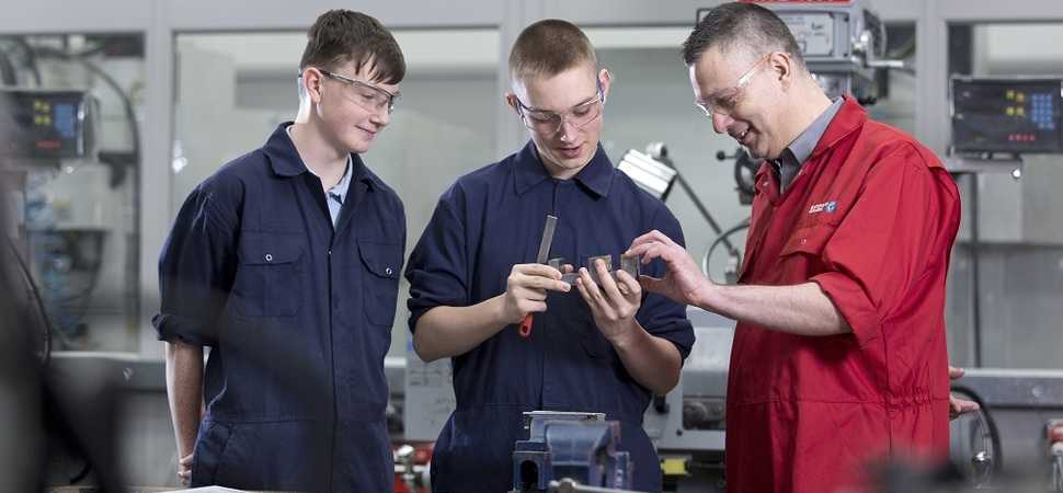 Firms back training scheme to plug engineering skills gap