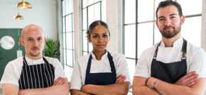Interview with Samira Effa representing North East on Great British Menu 2019