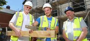 Grp Cynefin housing development gives back to Rhyl community