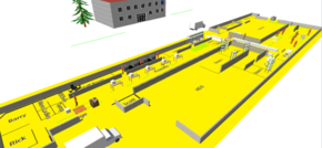 Manufacturer strives to increase output by 20% through factory simulation