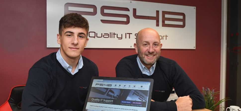 George swaps tactics for technology as he joins the family IT firm
