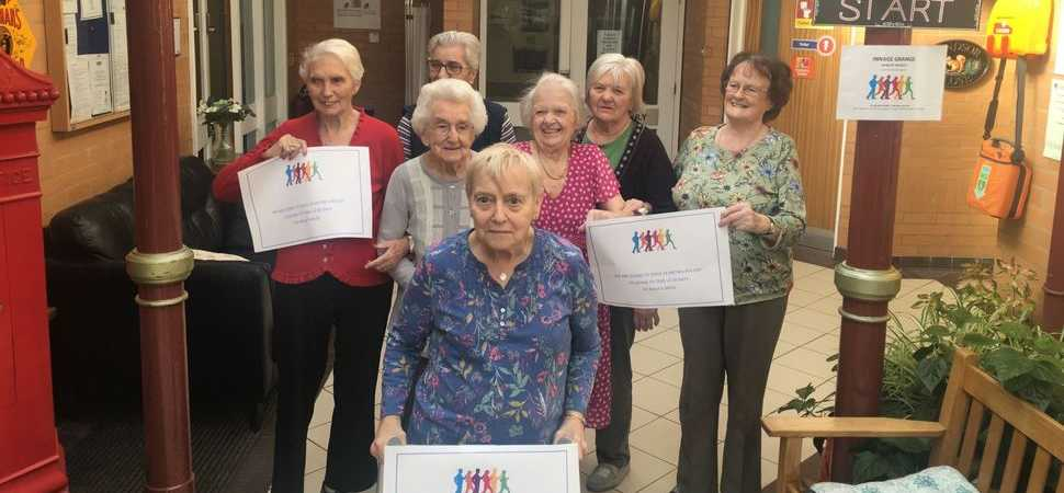 Care home staff get residents moving with new project