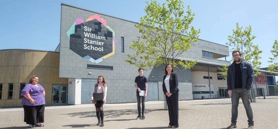 Businesses urged to support school children's access to online learning