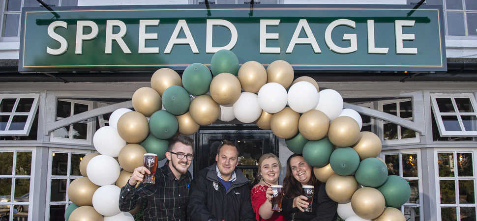 Bury St Edmunds pub reopens with a fresh new look