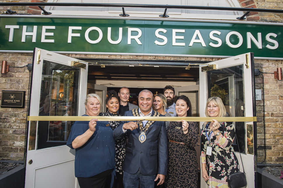 Basildon pub reveals a new look following six-figure investment