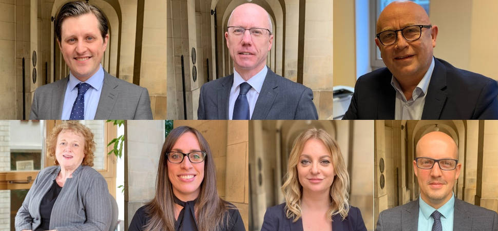 Seven promotions at Glaisyers Solicitors