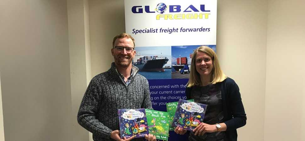 Shipping firm backs rural literacy project in Shropshire schools