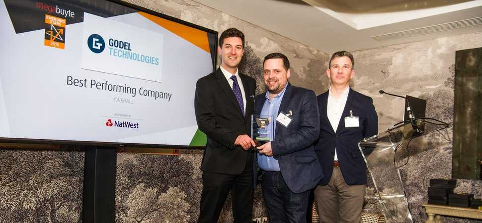 Godel wins the top award at the Megabuyte Emerging Stars Awards