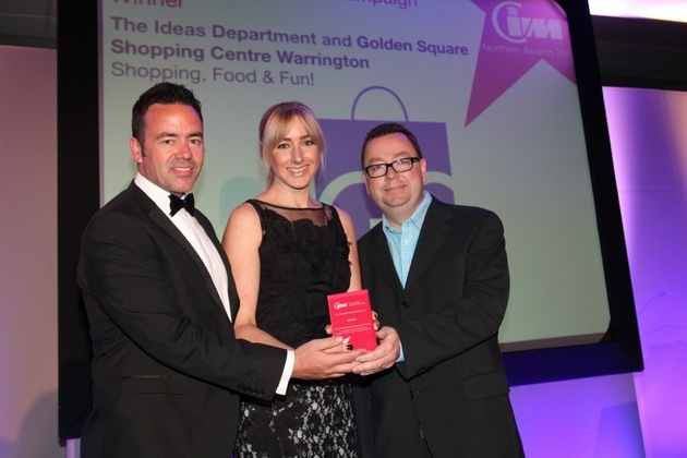 Gold for Golden Square at Industry Awards