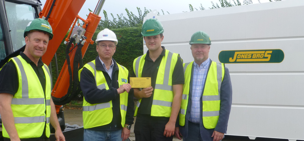 Jones Bros apprentice awarded golden ticket to national awards nomination