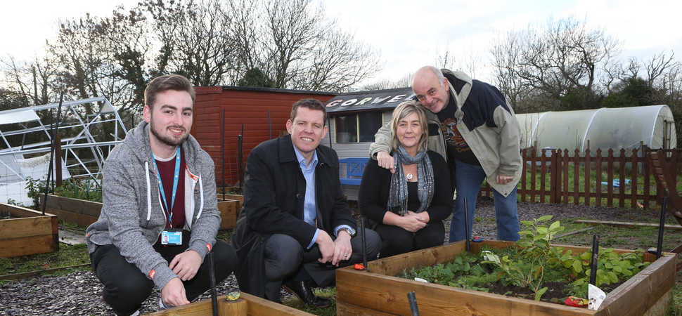 New community garden launched to help protect older peoples wellbeing