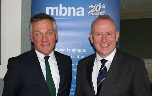 Graham Evans MP Visits MBNA HQ in Chester